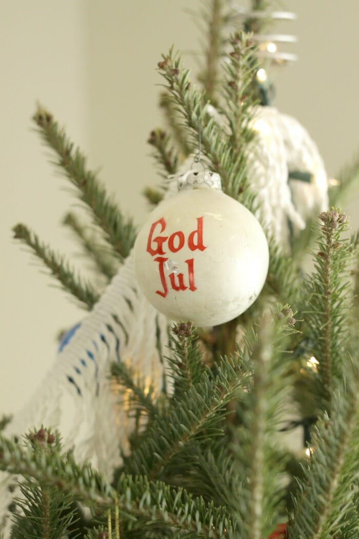 God Jul Ornament