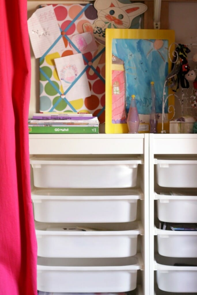 Ikea storage for art and craft supplies