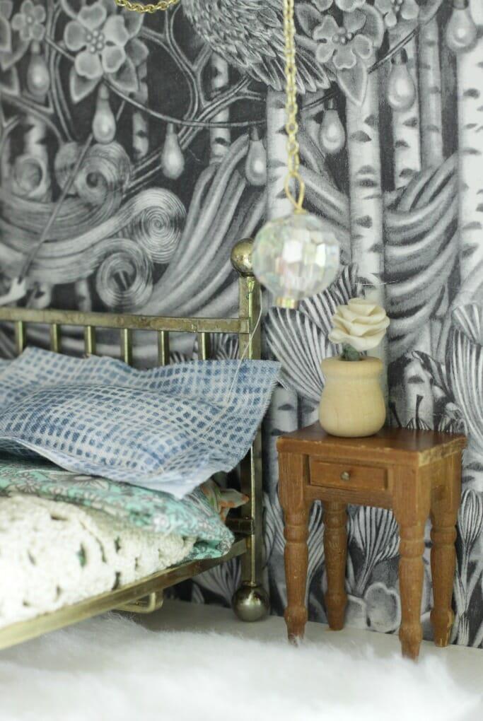 Boho Dollhouse Bedroom