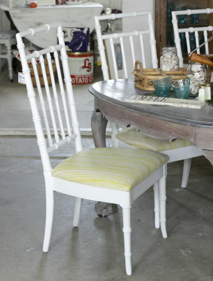 Superieur Faux Bamboo Chairs Painted With Amy Howard One Step From Ace