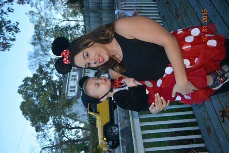mickey and minnie mouse homemade halloween costume