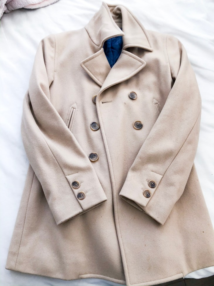 jackets for fall, peacoat