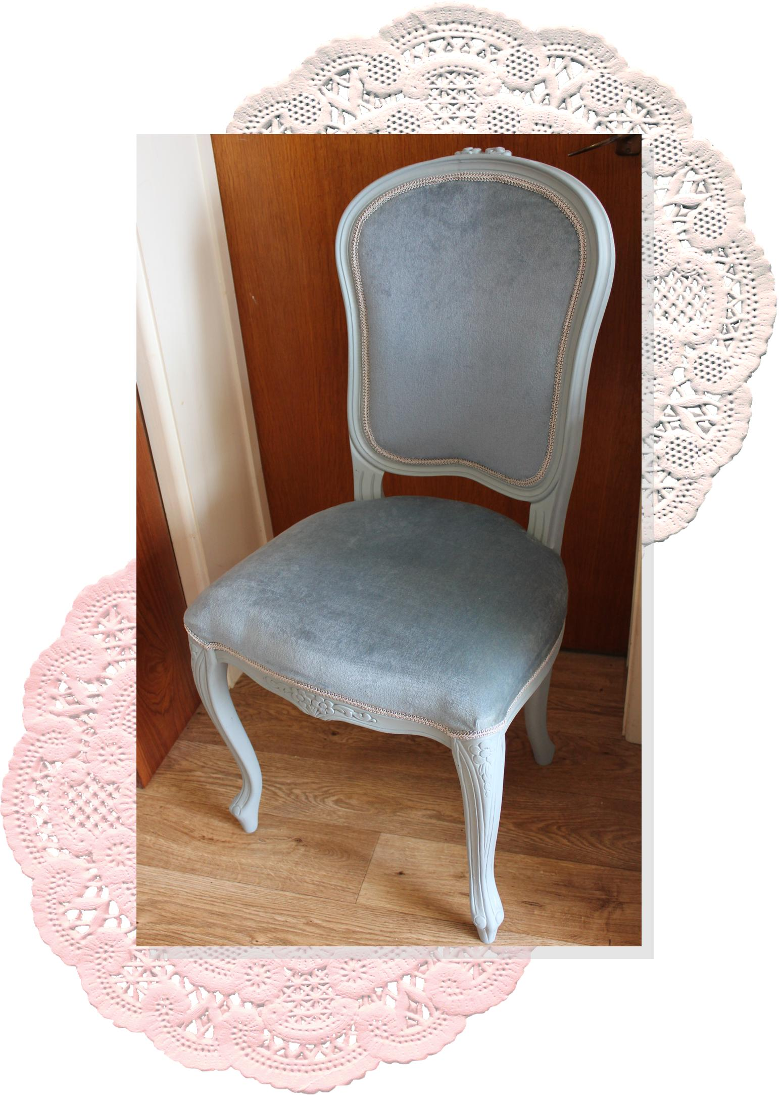 A diy project renovating an old dining chair for Dining table dressing