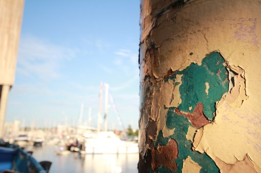 peeling paint photography by claire lacey