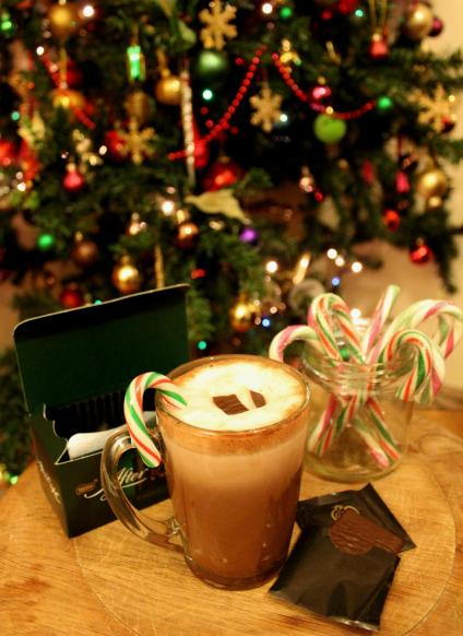 after 8 mint candy cane hot chocolate recipe for christmas