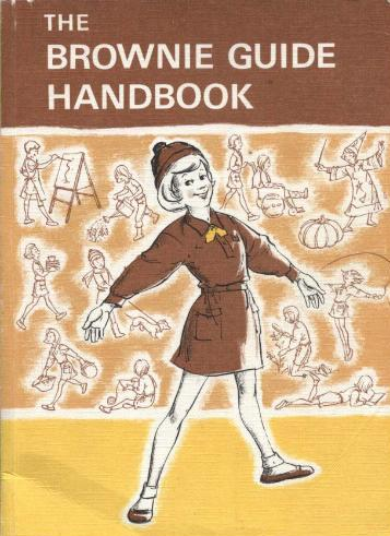 retro brownie guide handbook vintage book