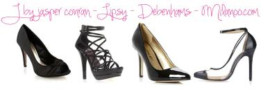 tuesday shoesday lipsy debenhams jasper conran milanoo shoes high heels black patent trend
