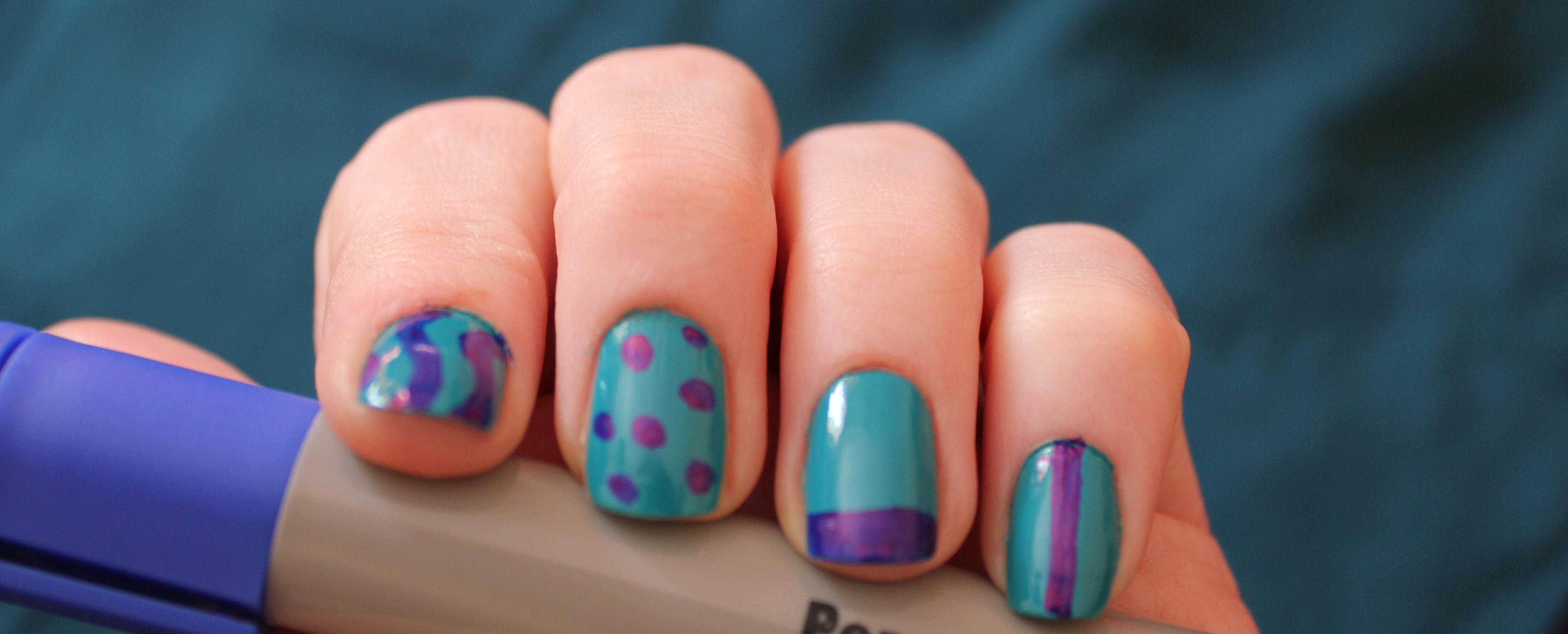The Cheapest Ever Nail Art Permanently Perfect Nails My Thrifty