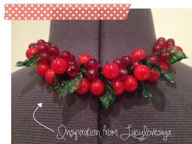 Cassiefairy inspiration from lucylovesya blog fruity berries for Mini Victoria Sponge Cakes