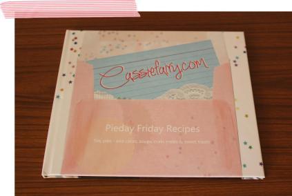 Cassiefairys free pieday friday recipe book blurb ebook