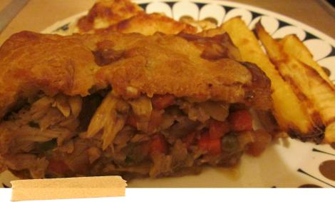 pieday friday recipe for leftover roast dinner pie baking cooking ebook