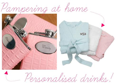 hen party ideas for personalised event pampering spa