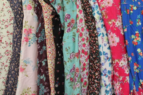 fashion trend vintage floral patterns for summer 2013