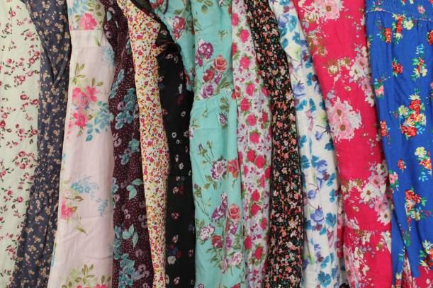 fashion trend vintage floral patterns for summer 2013