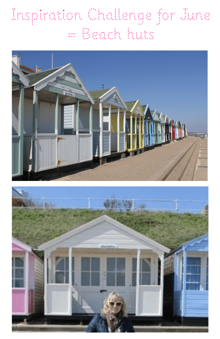 inspiration challenge for june beach huts
