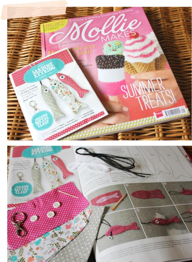 Cassiefairy lifestyle and craft blog review of Molly Makes issue 29