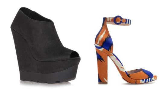 tuesday shoesday summer 2013 shoe trends kurt geiger brantano zara