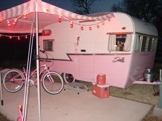pink vintage camper from cassiefairys pinterest caravan love board