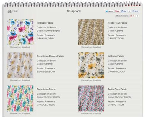 Cassiefairys vintage caravan makeover project fabrics from rodgers of york