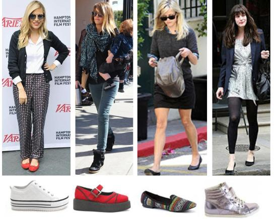 autumn winter 2013 shoe footwear trends recce witherspoon jessica alba liv tyler