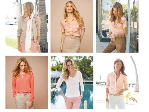 blush pink autumn fashion trend from pure collection
