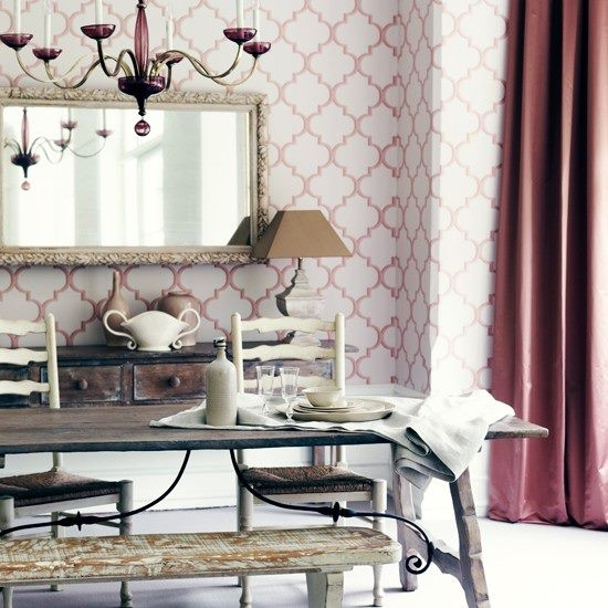 How To Decorate With Blush Pink: Autumn Colour Trend