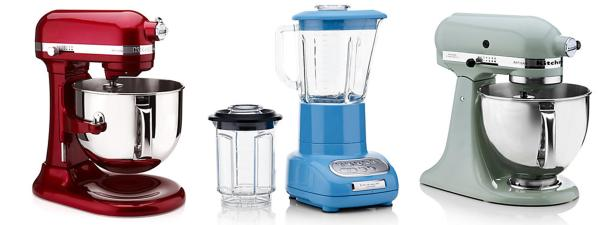 kitchen aid mixer and blender from harrods