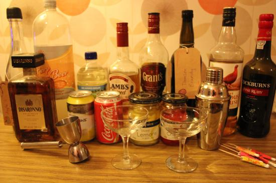 thrifty night in ideas for retro cocktail making