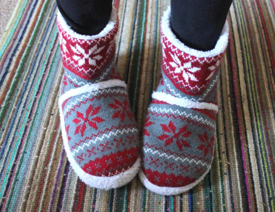 tuesday shoesday comfortable ladies christmas slipper boots