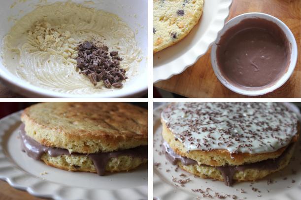 pieday friday white and milk chocolate chip sponge cake recipe