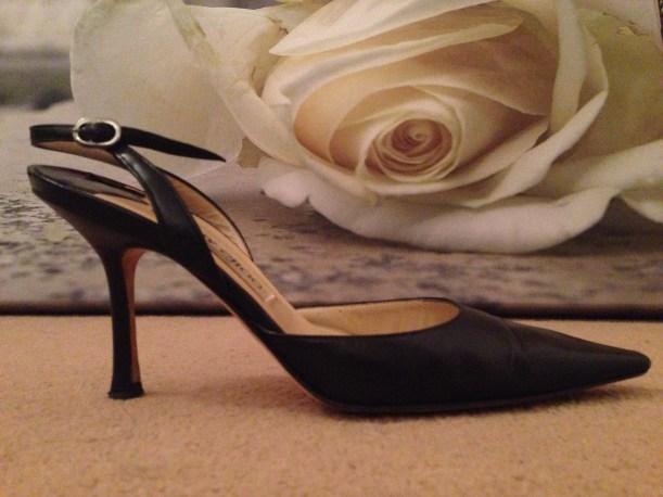Jimmy Choo slingback heels from la vie sophie