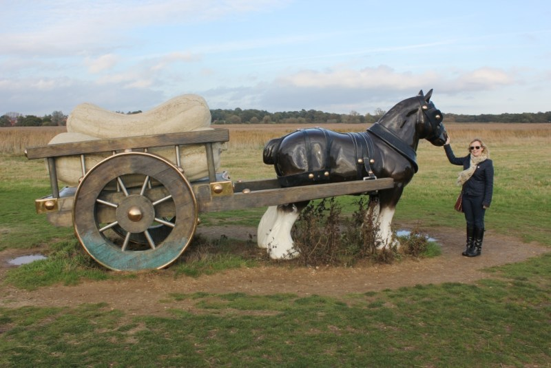 Perceval scupture by Sarah Lucas