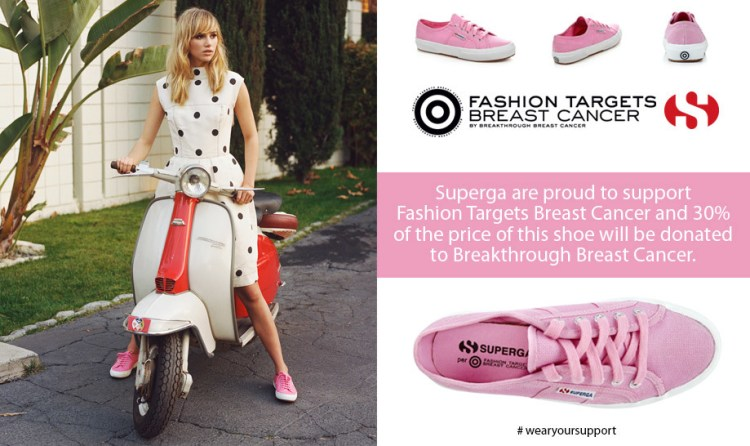 fashion targets breast cancer campaign 2014 supergra pink pumps