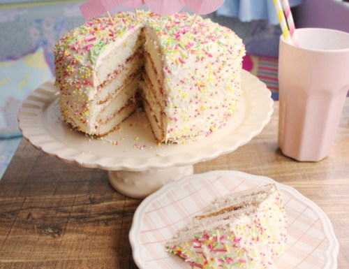 Rainbow sprinkles birthday cake recipe