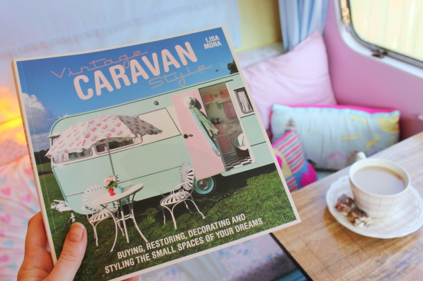 Vintage Caravan Style book by Lisa Mora - review on this blog
