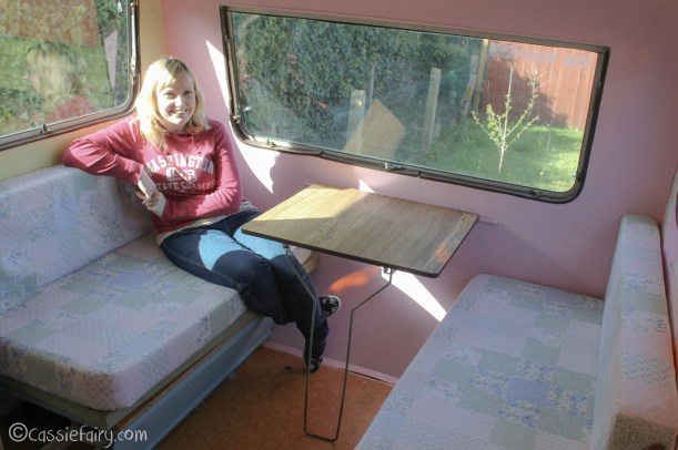 Vintage caravan makeover project on Cassiefairy blog-12