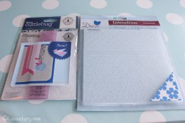 card making craft ideas including Sizzix embossing kit review-3