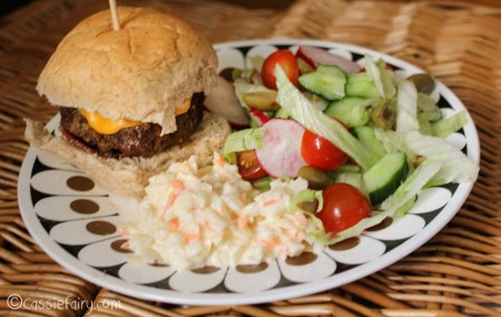 great BBQ recipes for homemade burgers plus sticky barbecue ribs and chicken