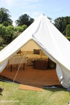 Glamping festival ideas - bell tents-2