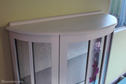 Vintage caravan project - DIY painted cabinet furniture makeover-16