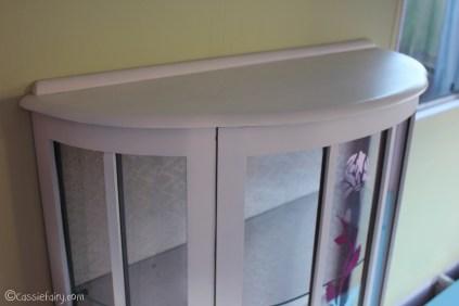 Vintage caravan project - DIY painted cabinet furniture makeover-16