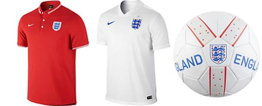 england football shirts and ball father day ideas