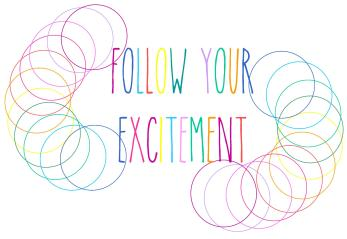 follow your excitement colour spirals 2