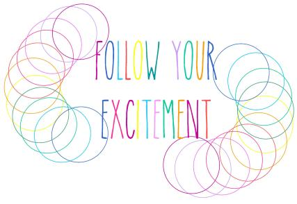 follow your excitement colour spirals 2