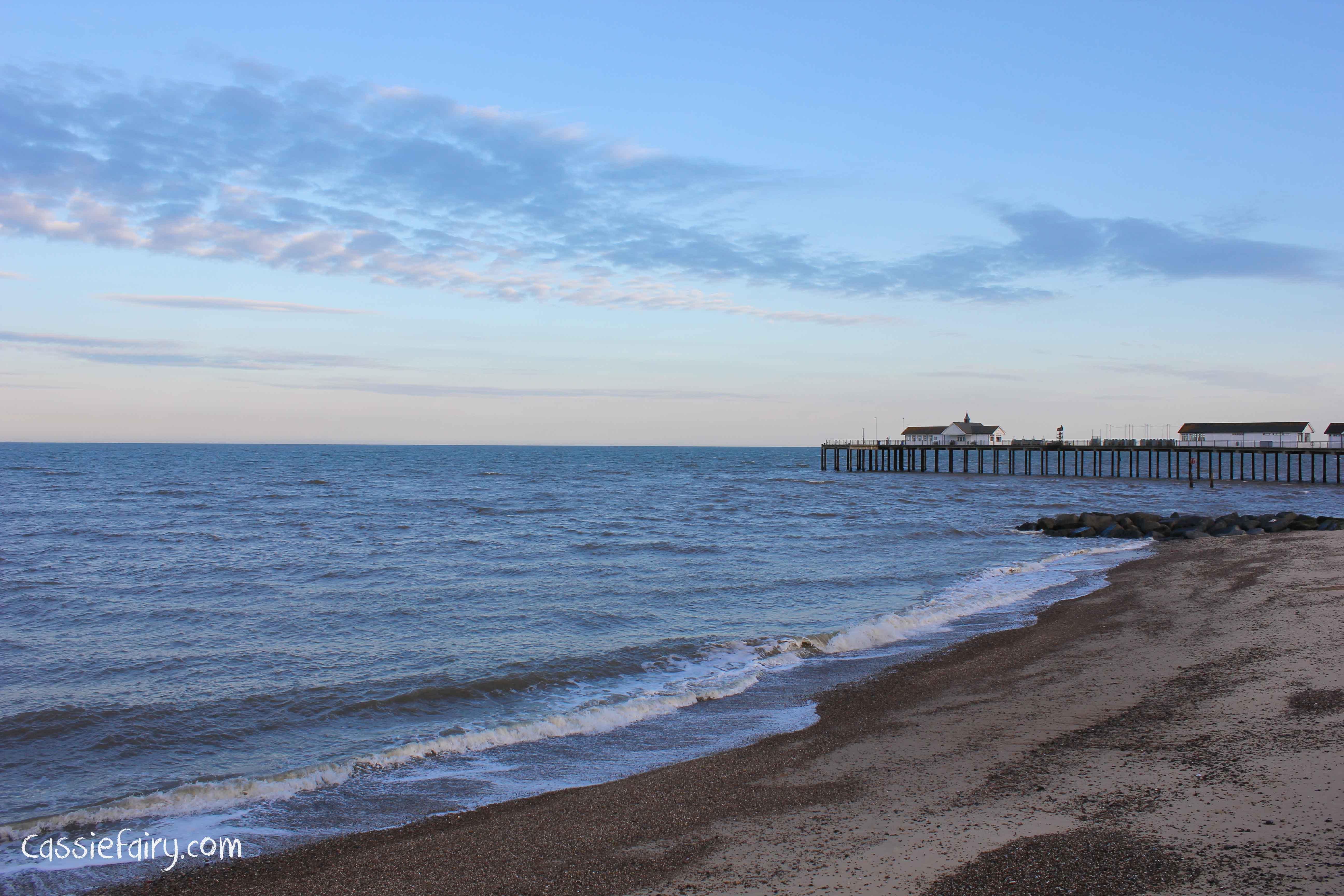 Photos of the Suffolk Coast - Southwold pier