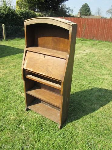 Vintage caravan project - DIY painted cabinet furniture makeover-1