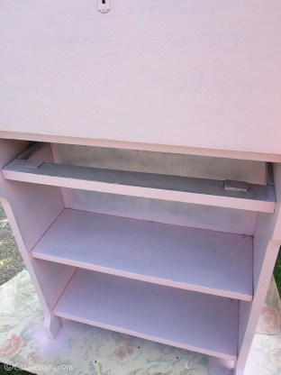 Vintage caravan project - DIY painted cabinet furniture makeover-7