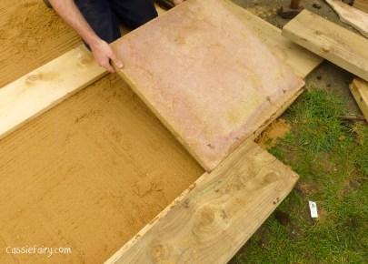 how to build a terraced patio garden-5