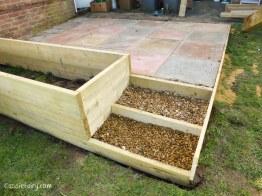 how to build a terraced patio garden-8