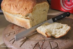 Easy recipe for baking a loaf of white bread-5